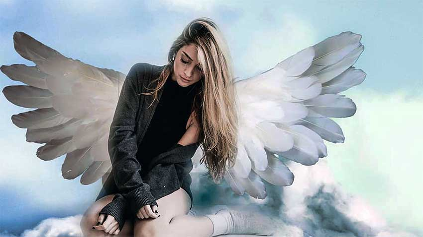 Angel Passing