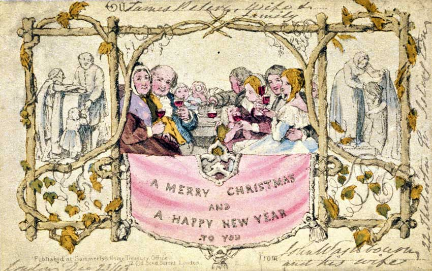 Christmas-card-made-by-Henry-Cole-1843
